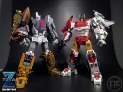 Zeta Toys ZT ZA06 Bruticon Bruticus Full Set of 5