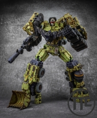 Toyworld TW TW-C07G Constructor Devastator Old Green Version Set of 6