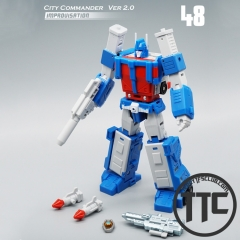 MechFansToys Mech Fans Toys MFT MF-48 MF48 City Commander Ultra Magnus Version 2.0 Improvisation