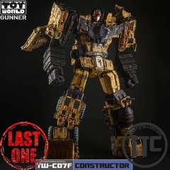 Toyworld TW TW-C07F devastator Battle damaged limited