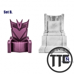 NewAge Core Scenery Megatron Tyrant Throne & Lincol-n's Ceremonial Chair Set B