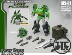 MechFansToys Mechnic Studio MS-01 Assault Soldiers Springer