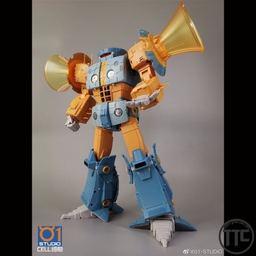 (US Pre-order buyers only) 01 Studio Cell Unicron